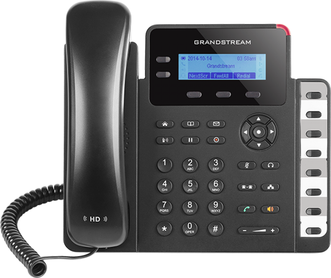 GrandStream GXP1628 - Entry-level Gigabit IP Phone, 2 Line POE