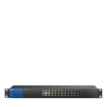 LINKSYS LGS124P Unmanaged GIGABIT SWITCH 24-port, POE
