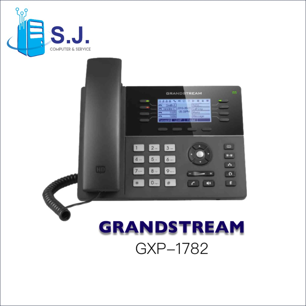 โทรศัพท์สํานักงาน IP PHONE GRANDSTREAM GXP1780/1782 8-line Powerful Mid-range HD IP Phone